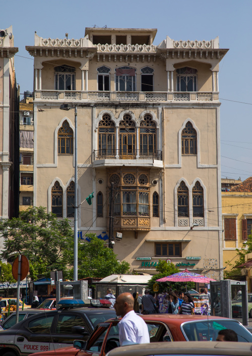 Traditional old building, North Governorate, Tripoli, Lebanon