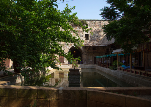 Old caravanserai in the souk, North Governorate, Tripoli, Lebanon