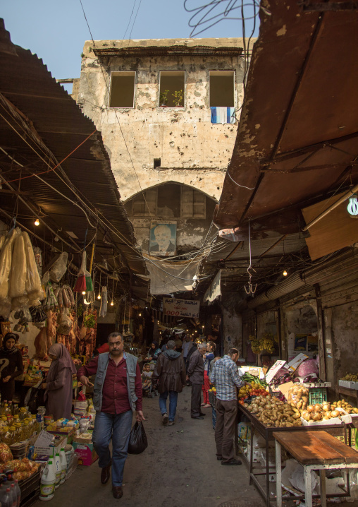Entrance of the old souk, North Governorate, Tripoli, Lebanon