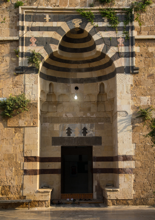Al Bourtasi mamluk mosque and madrassa, North Governorate, Tripoli, Lebanon