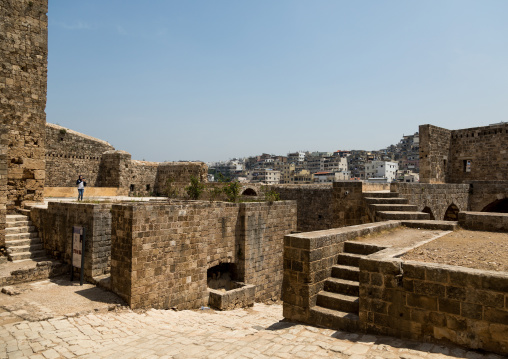 Citadel of Raymond de Saint Gilles, North Governorate, Tripoli, Lebanon