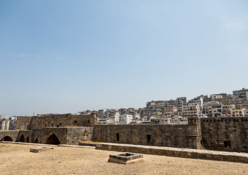 View of the town seen from the citadel of Raymond de Saint Gilles, North Governorate, Tripoli, Lebanon