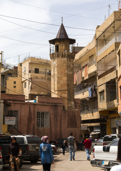 Old mosque in the city center, Beqaa Governorate, Baalbek, Lebanon