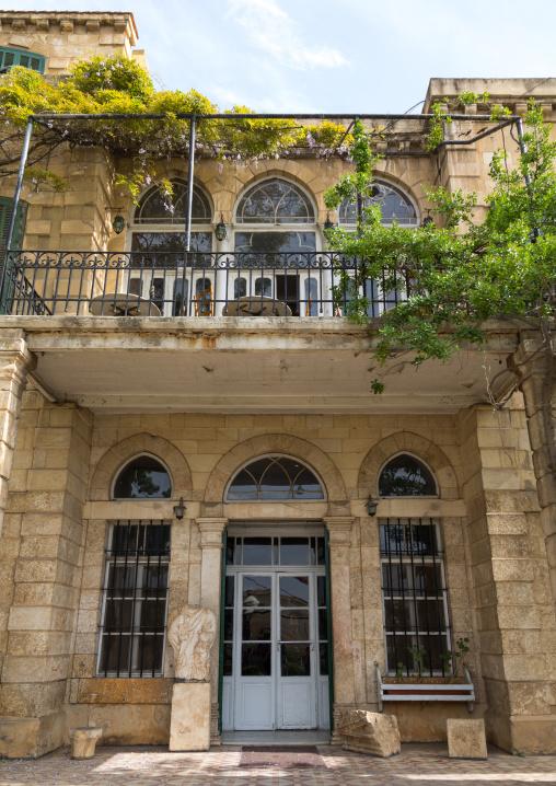 Palmyra hotel entrance, Beqaa Governorate, Baalbek, Lebanon