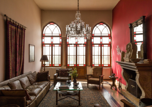 The annexe guesthouse from the Palmyra hotel, Beqaa Governorate, Baalbek, Lebanon