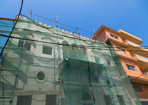 Renovation of an old building on the port, South Governorate, Tyre, Lebanon