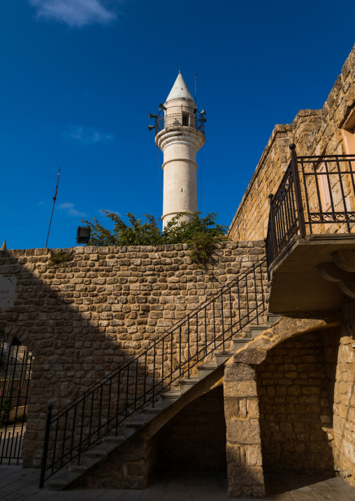 Mosque in the old city, South Governorate, Tyre, Lebanon