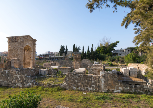 Necropolis of el Bass archaeological site, South Governorate, Tyre, Lebanon