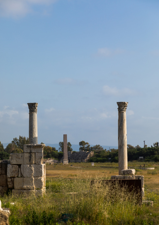 Hippodrome in al Bass site, South Governorate, Tyre, Lebanon