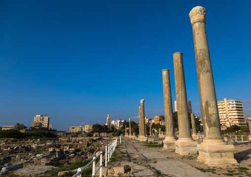 Al-Mina archaeological site, South Governorate, Tyre, Lebanon