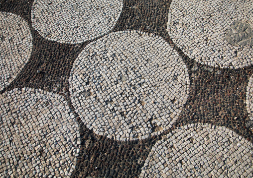 Mosaics in al-mina archaeological site, South Governorate, Tyre, Lebanon