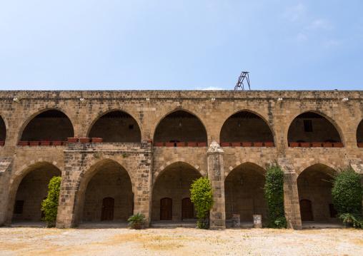 Khan el-franj caravanserai, South Governorate, Sidon, Lebanon
