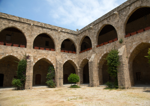 Khan el-franj caravanserai, South Governorate, Sidon, Lebanon