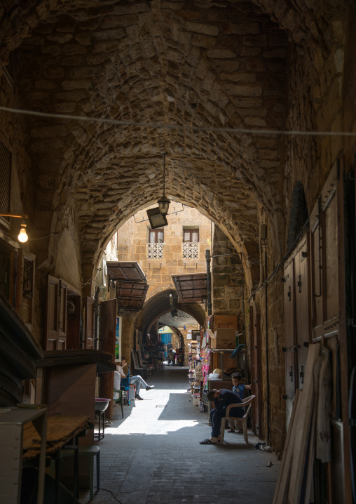 Old covered souk, South Governorate, Sidon, Lebanon