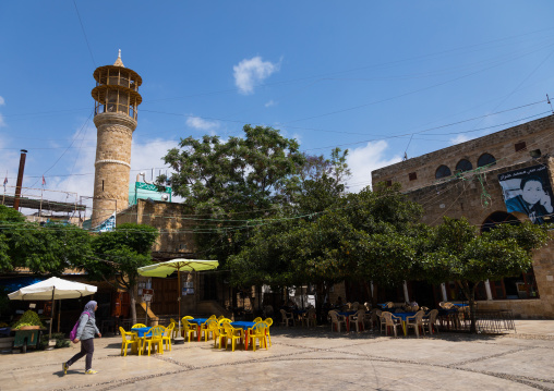 Mosque on the main square, South Governorate, Sidon, Lebanon