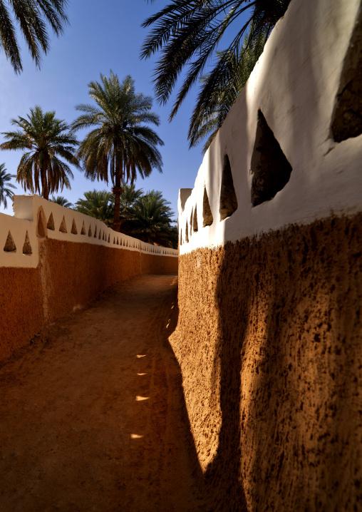 Narrow street in the old town, Tripolitania, Ghadames, Libya