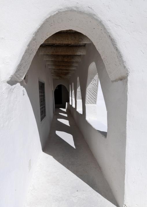 Coranic school arches, Tripolitania, Ghadames, Libya