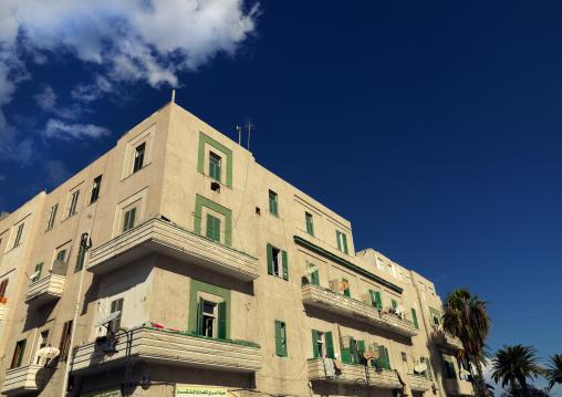 Apartments from the italian settlement, Tripolitania, Tripoli, Libya