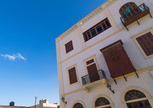 Iralian colonial building in the medina, Tripolitania, Tripoli, Libya