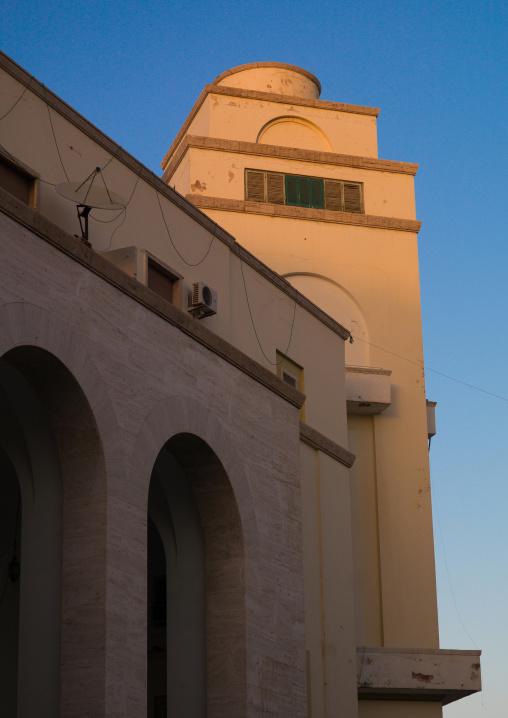 Building from the italian settlement in algeria square, Tripolitania, Tripoli, Libya