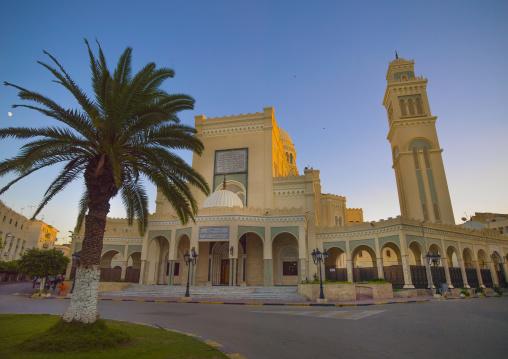 Gamal Abdel Nasser Mosque in Algeria square, Tripolitania, Tripoli, Libya