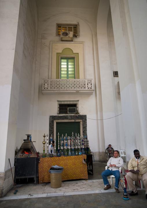 Bar in algeria square, Tripolitania, Tripoli, Libya