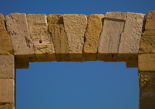 Leptis magna arch, Tripolitania, Khoms, Libya