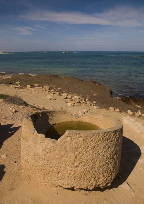 Old roman water tanks, Tripolitania, Sabratha, Libya
