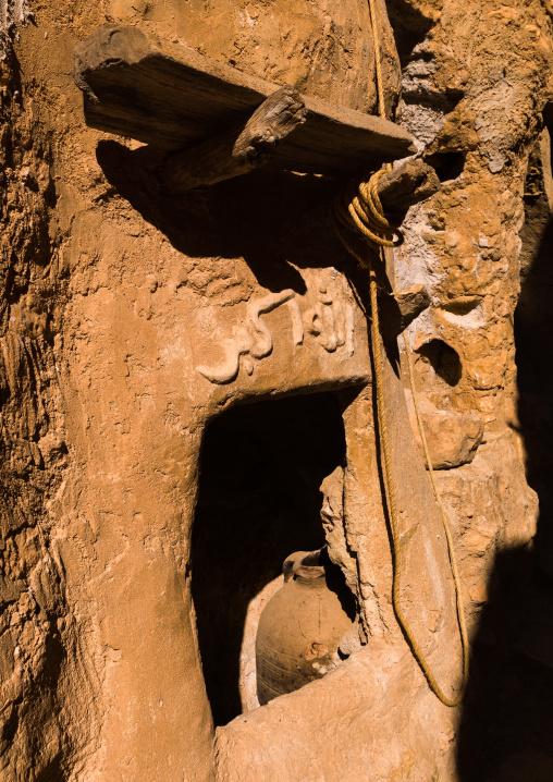 Old ksar with granaries, Tripolitania, Nalut, Libya