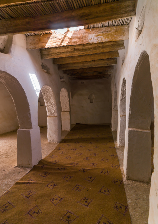 Arches in an old mosque, Tripolitania, Ghadames, Libya