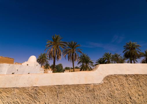 Oasis in the old town, Tripolitania, Ghadames, Libya