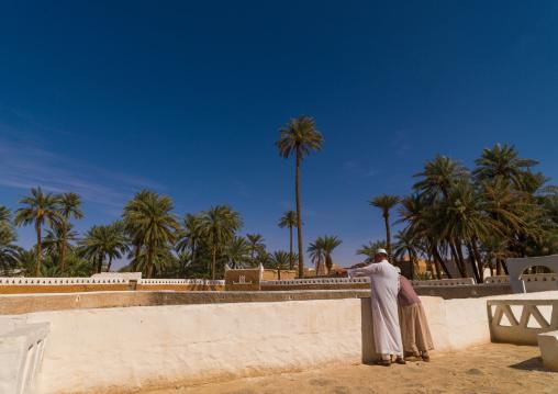 Ain al-faras aka horse fountain, Tripolitania, Ghadames, Libya