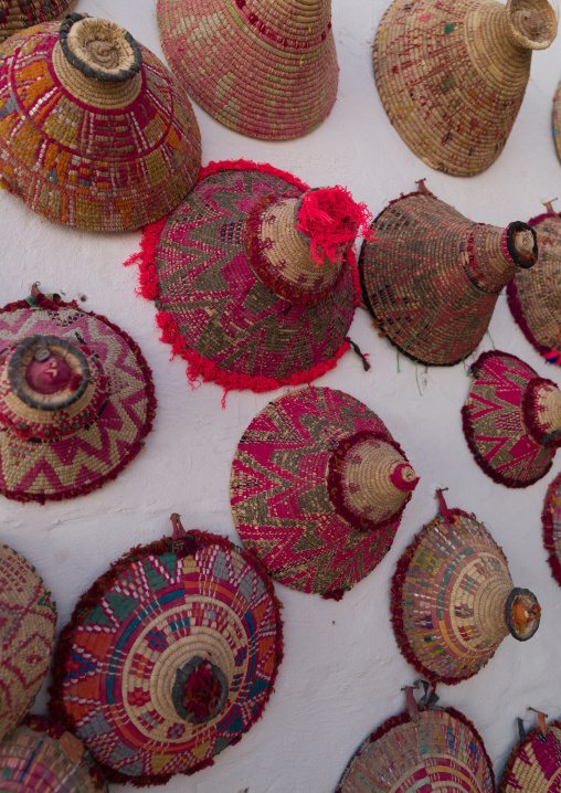 Decoration inside a house of the old town, Tripolitania, Ghadames, Libya