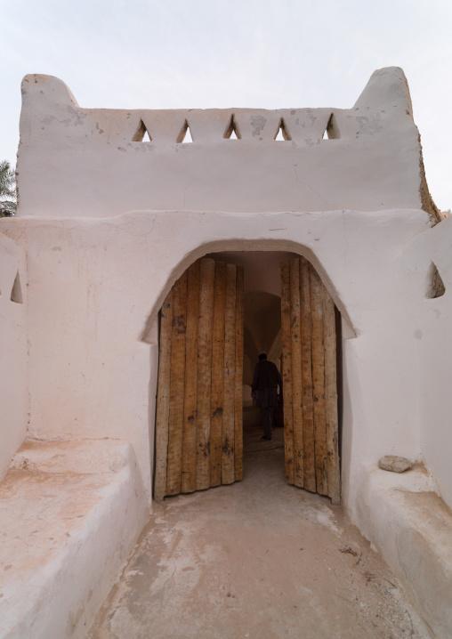Entrance of an old house, Tripolitania, Ghadames, Libya