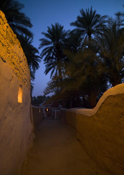 Old narrow street, Tripolitania, Ghadames, Libya