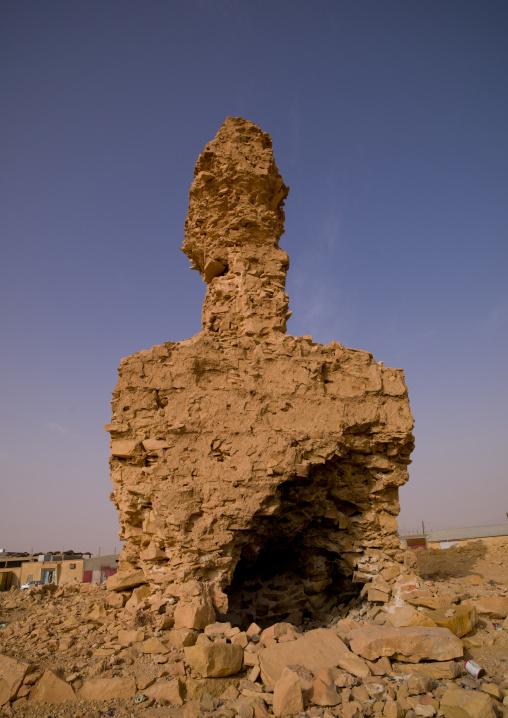 Ruis of an old grave, Tripolitania, Ghadames, Libya