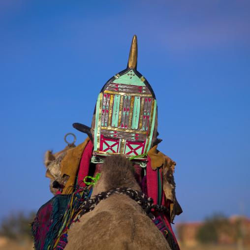 Camel saddle, Tripolitania, Ghadames, Libya