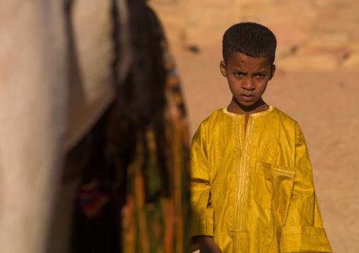 Tuareg boy, Tripolitania, Ghadames, Libya