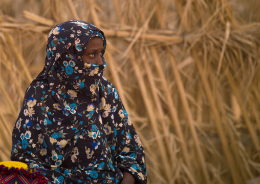 Portrait of a tuareg woman, Tripolitania, Ghadames, Libya