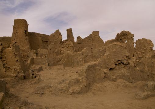 The ancient city, Fezzan, Germa, Libya