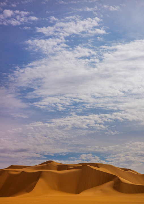 Dunes in ubari desert, Fezzan, Umm al-Maa, Libya