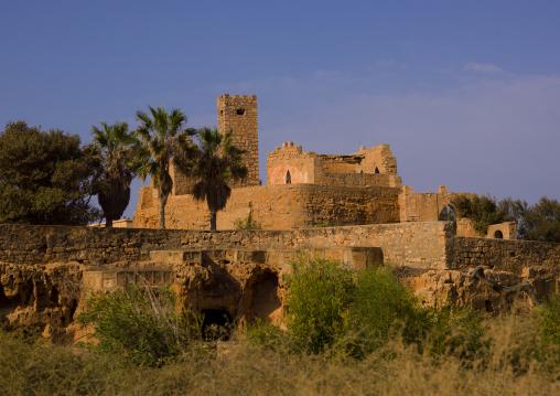 Ottoman fortress, Cyrenaica, Tocra, Libya