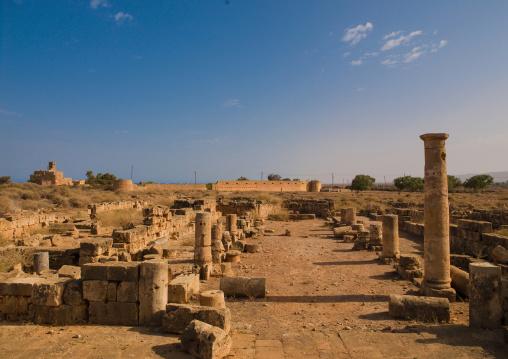 Roman ruins, Cyrenaica, Tocra, Libya