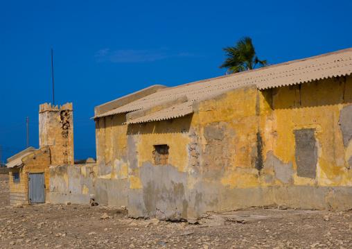 Old italian farm, Cyrenaica, Ptolemais, Libya