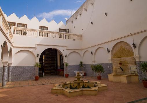 Atrium in an old house, Cyrenaica, Benghazi, Libya