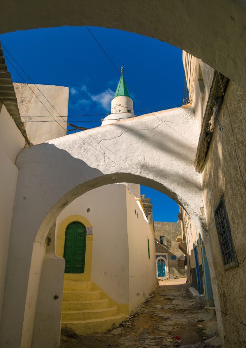 Mosque in the medina, Tripolitania, Tripoli, Libya