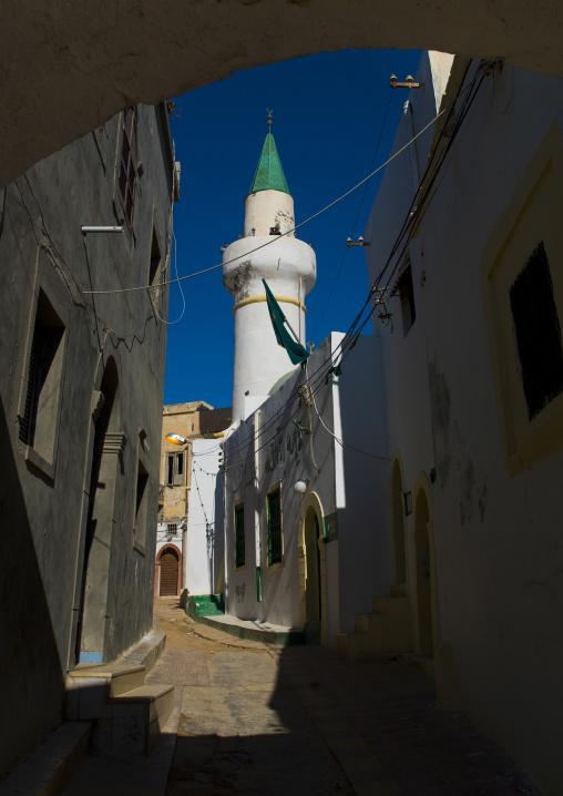 Mosque in the medina, Tripolitania, Tripoli, Libya