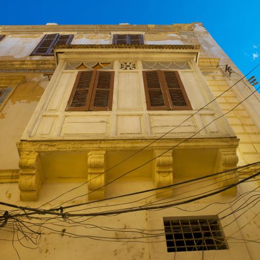 Old italian house, Tripolitania, Tripoli, Libya