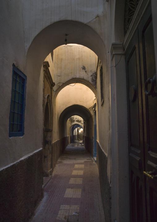 Passageway in the medina, Tripolitania, Tripoli, Libya