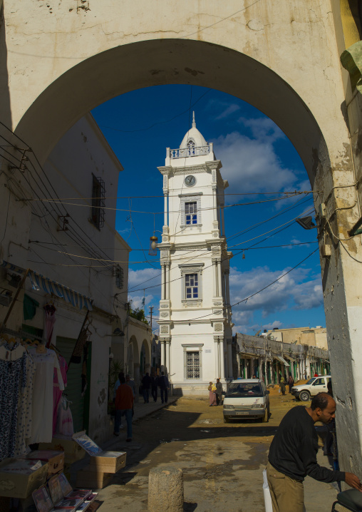 The ottoman clock tower, Tripolitania, Tripoli, Libya